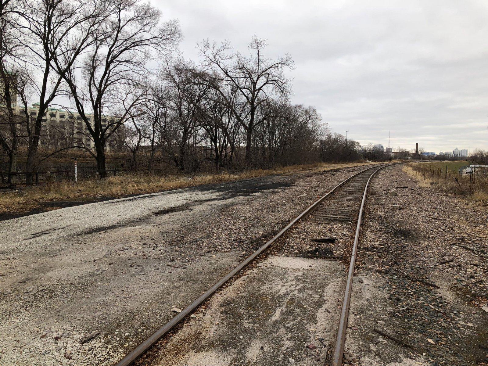 Union Pacific Railroad Tracks