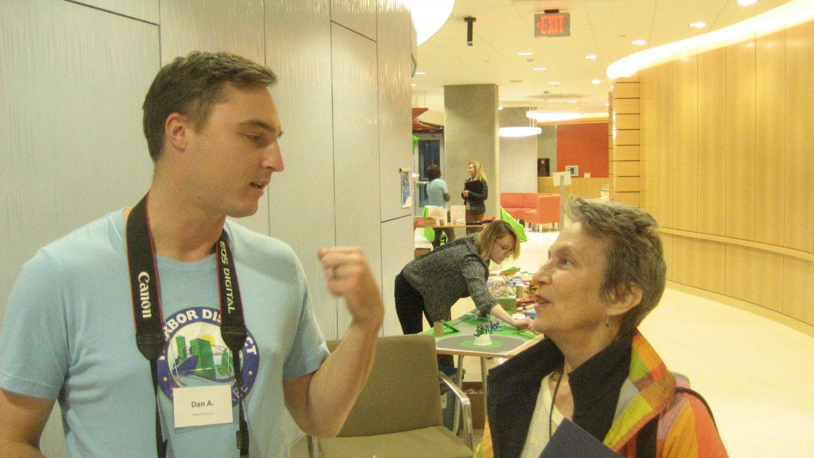 Dan Adams and Julilly Kohler