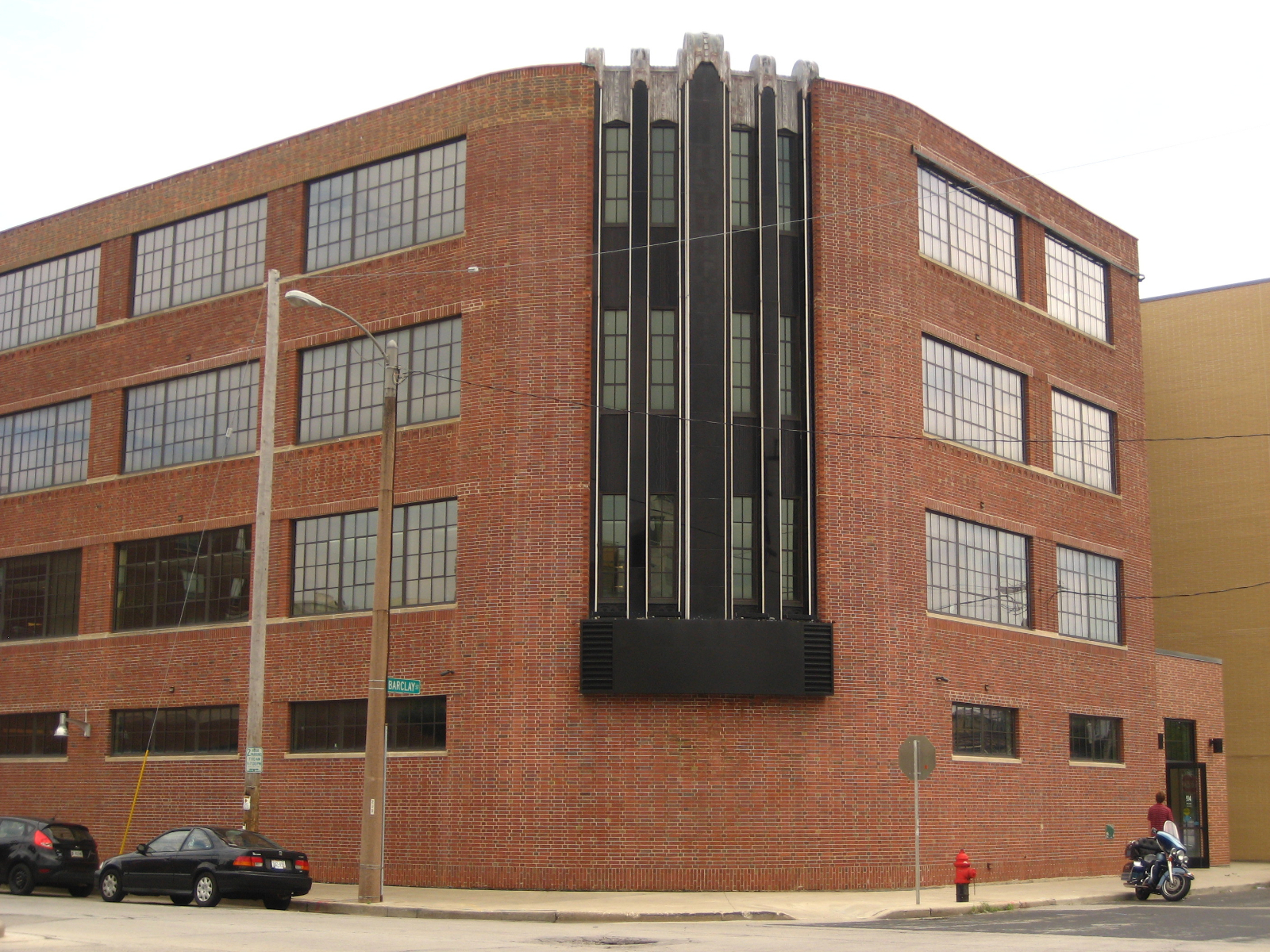 Pittsburgh Plate Glass Enamel Plant.