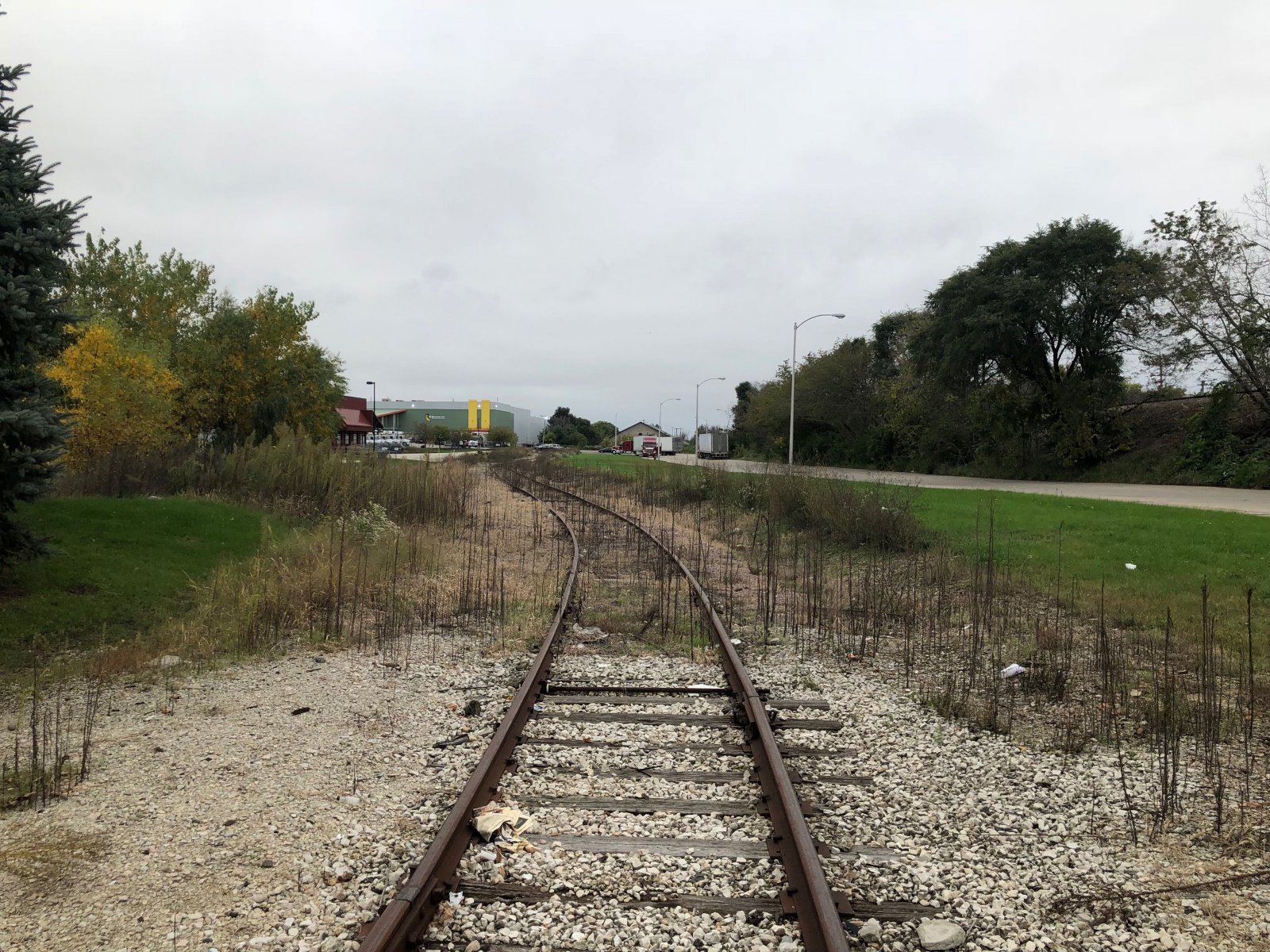 Railroad Spur on E. Florida St.