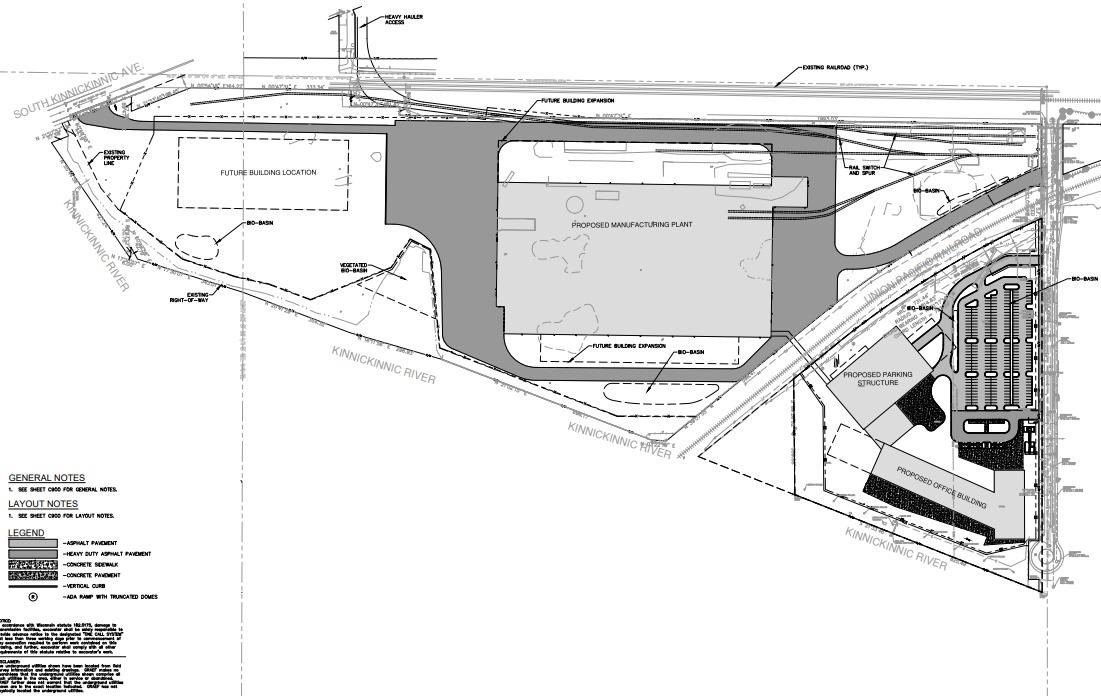 Komatsu South Harbor Campus Plan