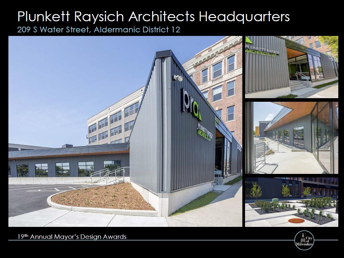 Plunkett Raysich Architects Headquarters
