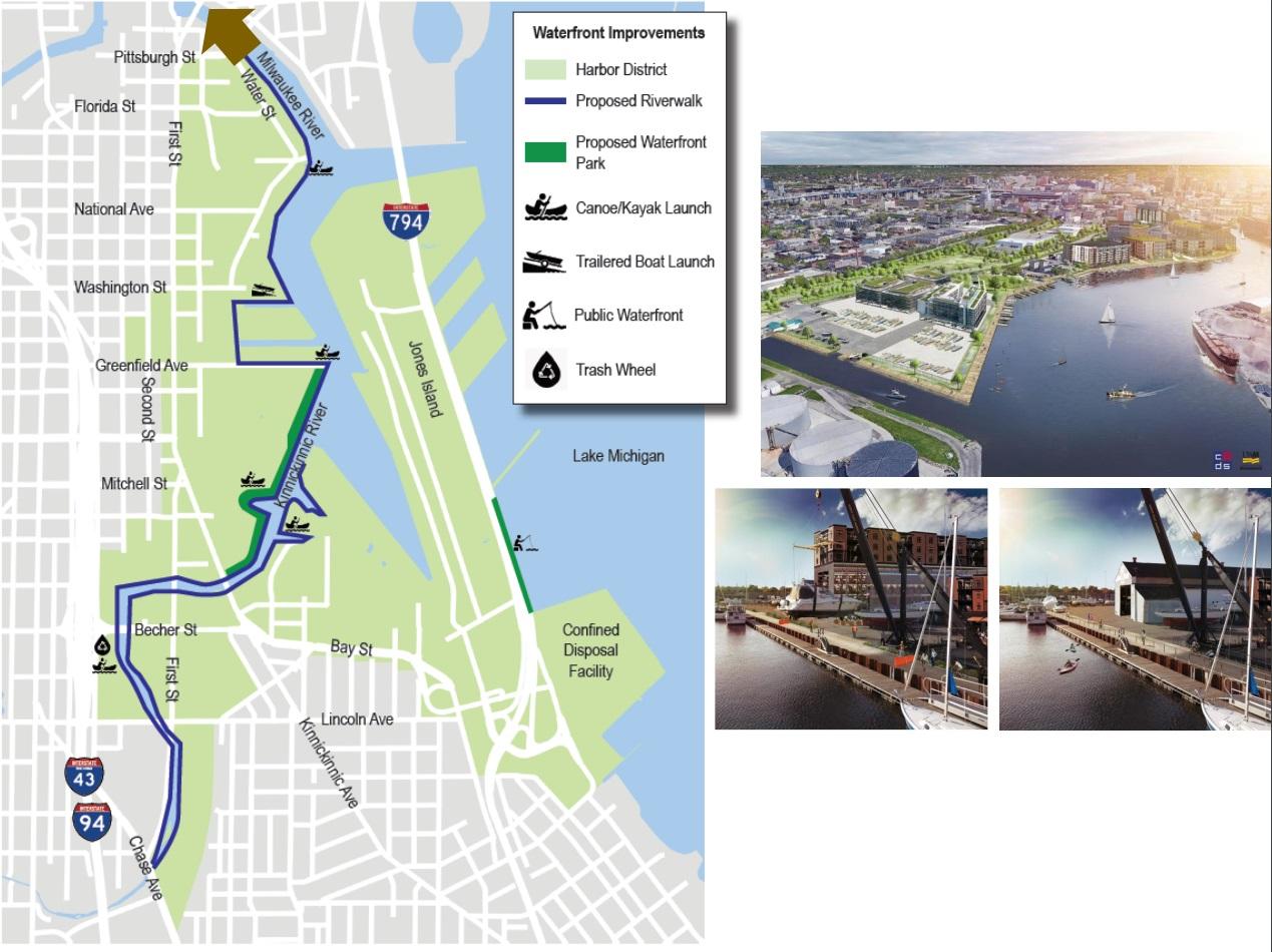 Harbor District Riverwalk