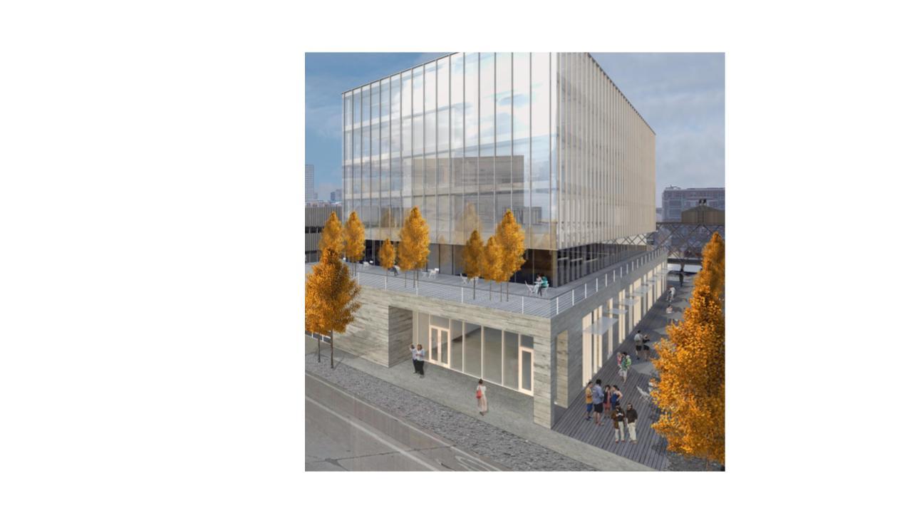 Proposed building Rendering