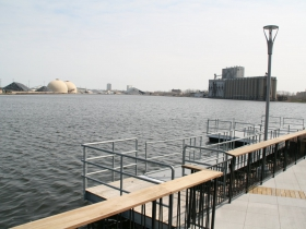 Canoe/Kayak Launch at Harbor View Plaza