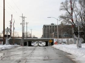 E. Greenfield Ave. Railroad Crossing