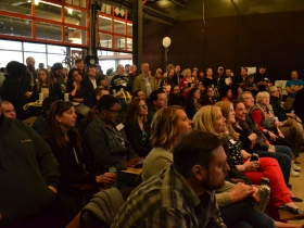 Hundreds of transit enthusiasts attended the Transportation Circus