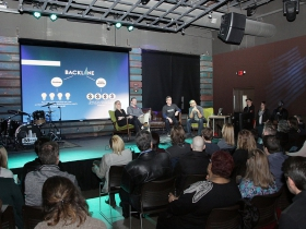 The Backline kickoff event was held at the 88Nine studios, 220 E. Pittsburgh Ave.,  Thursday April 5, 2018