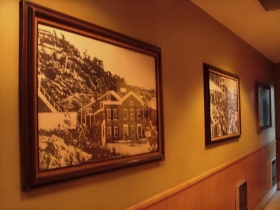 Hallway pictures.