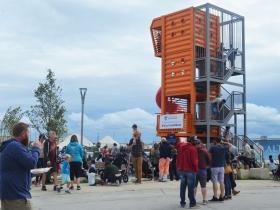 Harbor View Plaza during Harbor Fest 2019