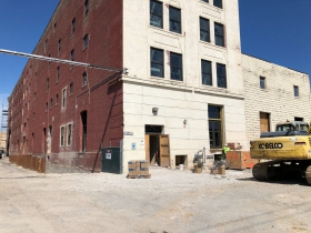 Maxwell Lofts Construction