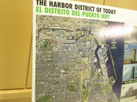 The Harbor District of the Today