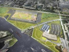 Komatsu Site Plan