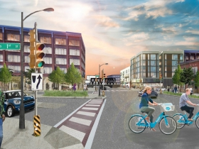 Mitchell Street Extension. Rendering by UWM Community Design Solutions.