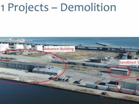 DeLong Demolition Site