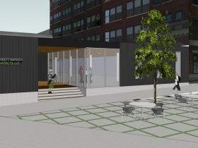 Plunkett Raysich Architects New Office Rendering