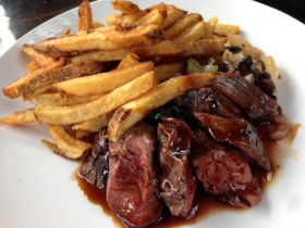 Prodigal Steak with Frites