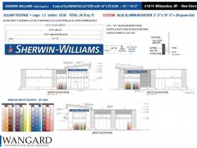 Sherwin Williams Plans