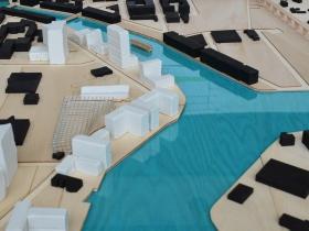 Harbor District Studio Model