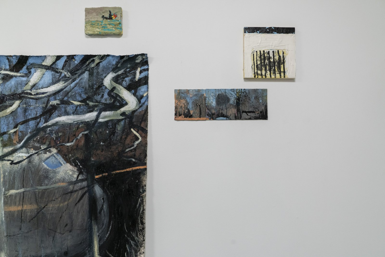 \'Oil and Cement\' opening reception