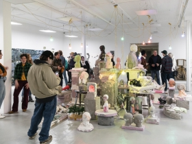 'Oil and Cement' opening reception
