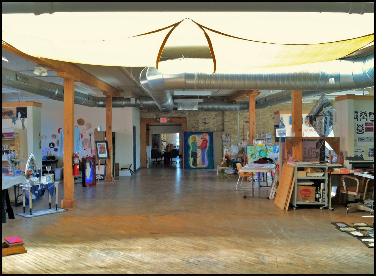 Artist Studio Spaces Fill the Gallery\'s Second Floor