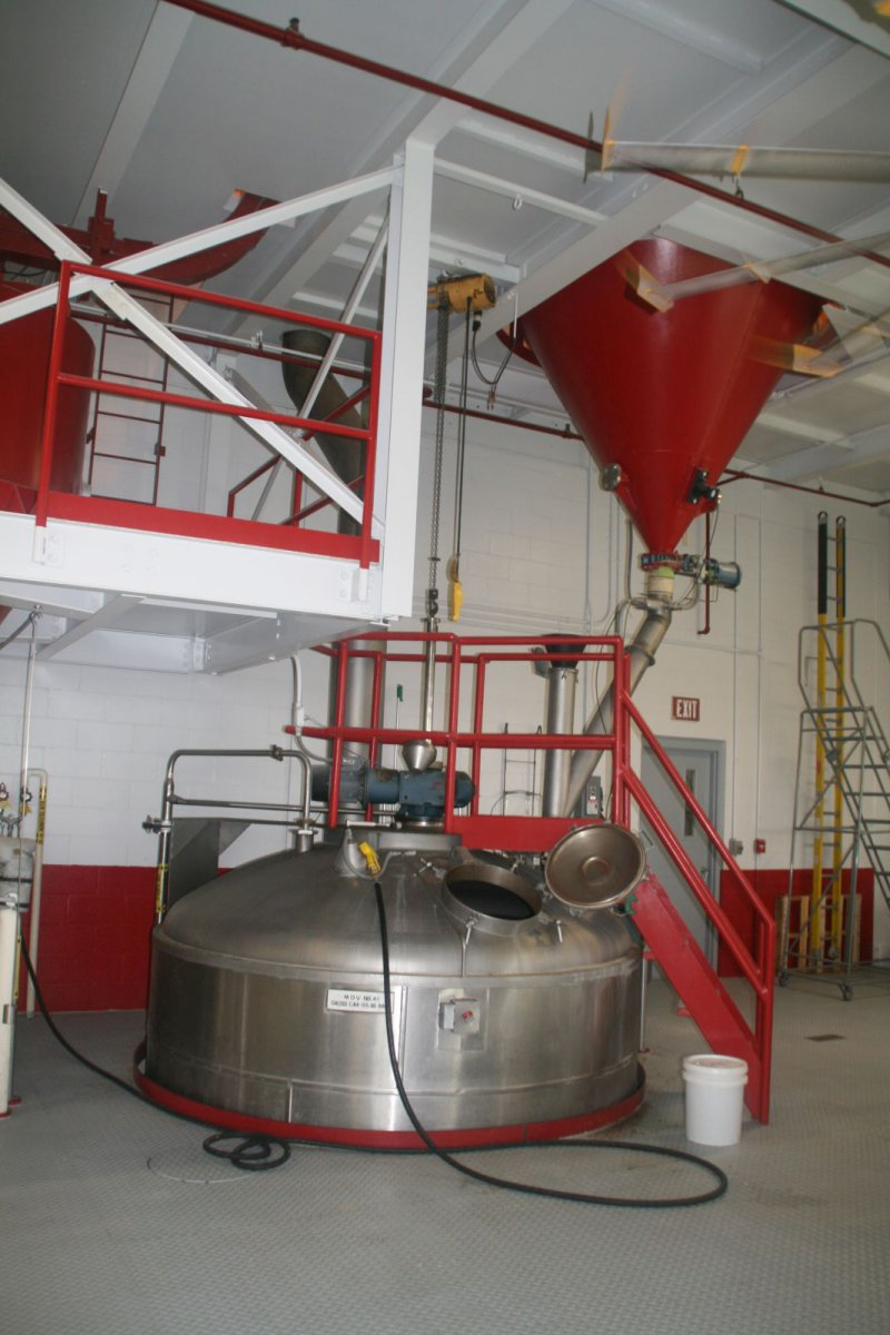 Inside 10th Street Brewery