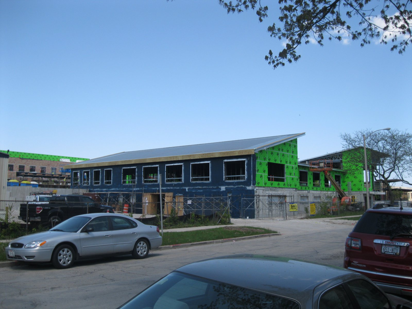 Construction of the Sojourner Family Peace Center