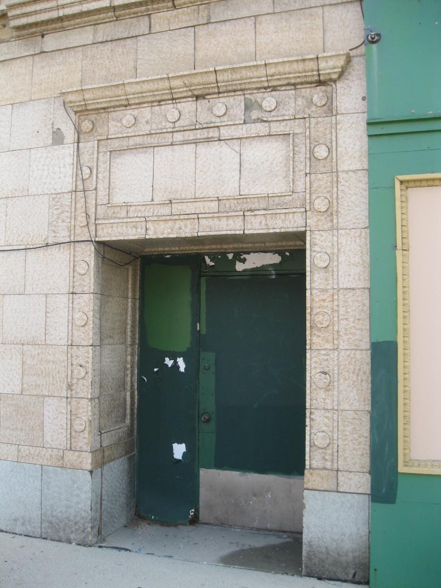 Detailed doorway.