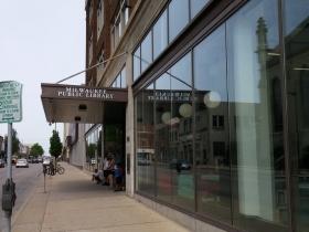 Milwaukee Public Library on Historic Mitchell Street