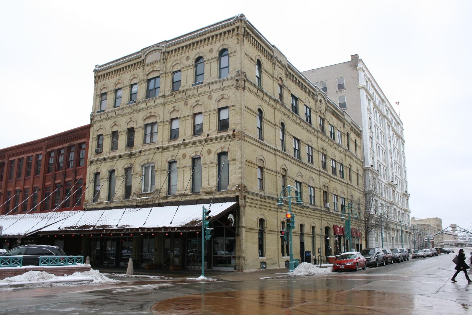 Jewett & Sherman Merchants' Mills Building