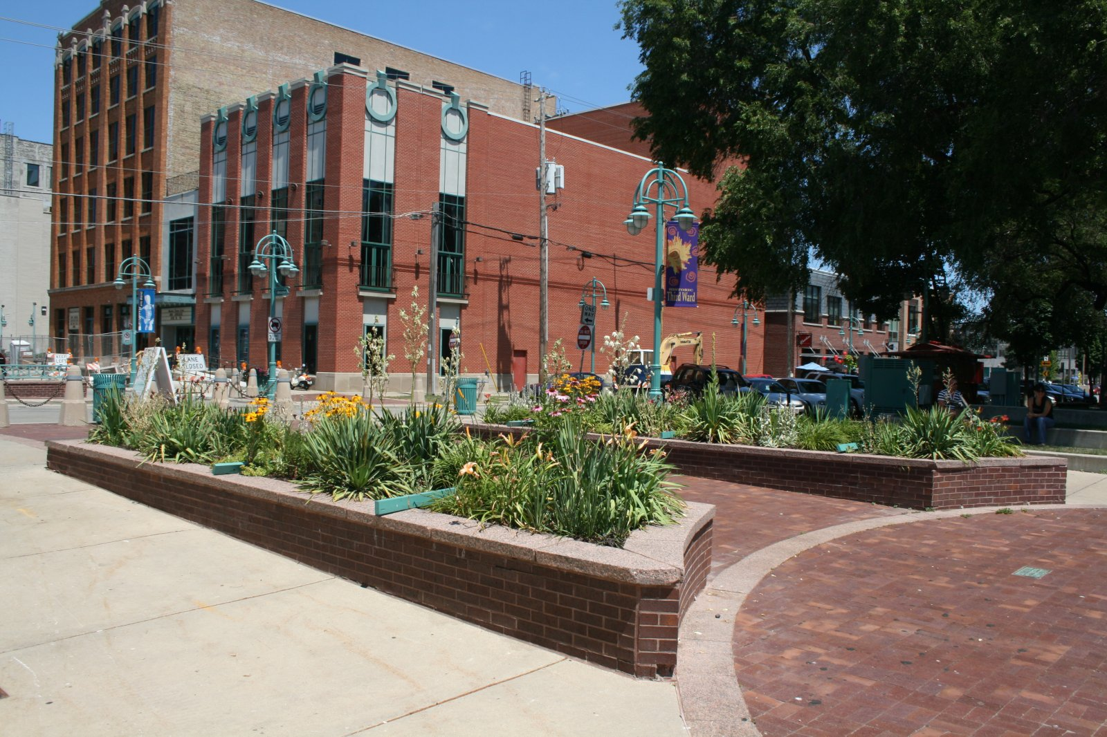 Planters at Catalano Square