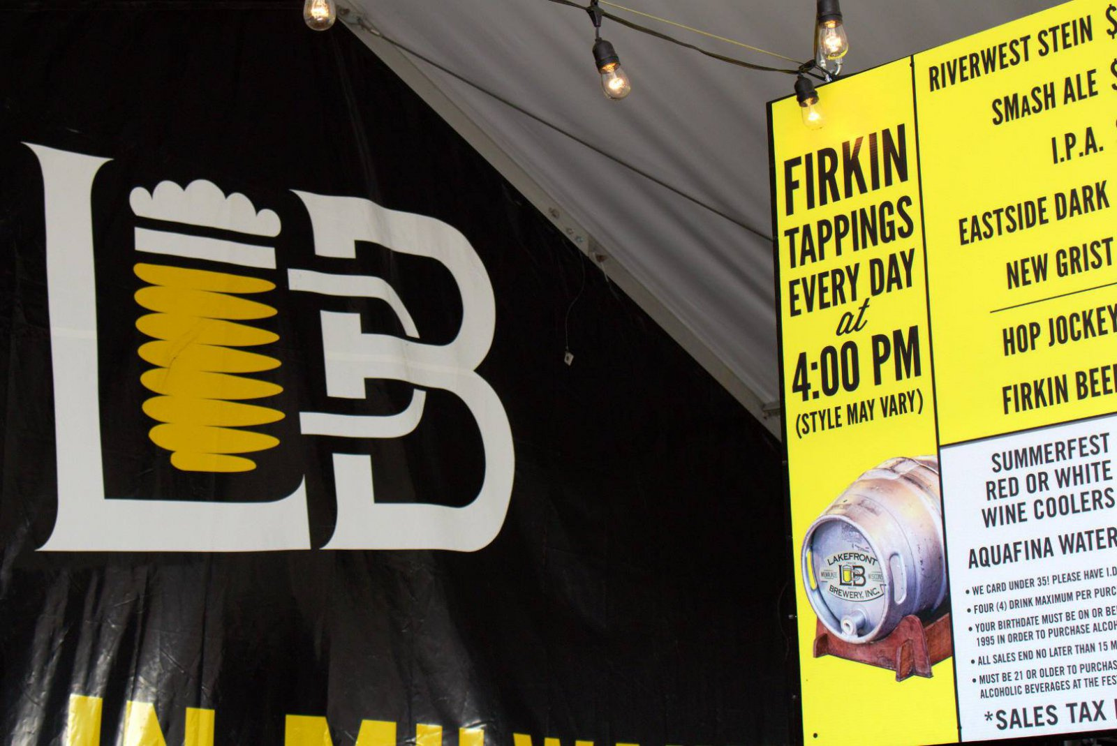 Lakefront Brewery at Summerfest