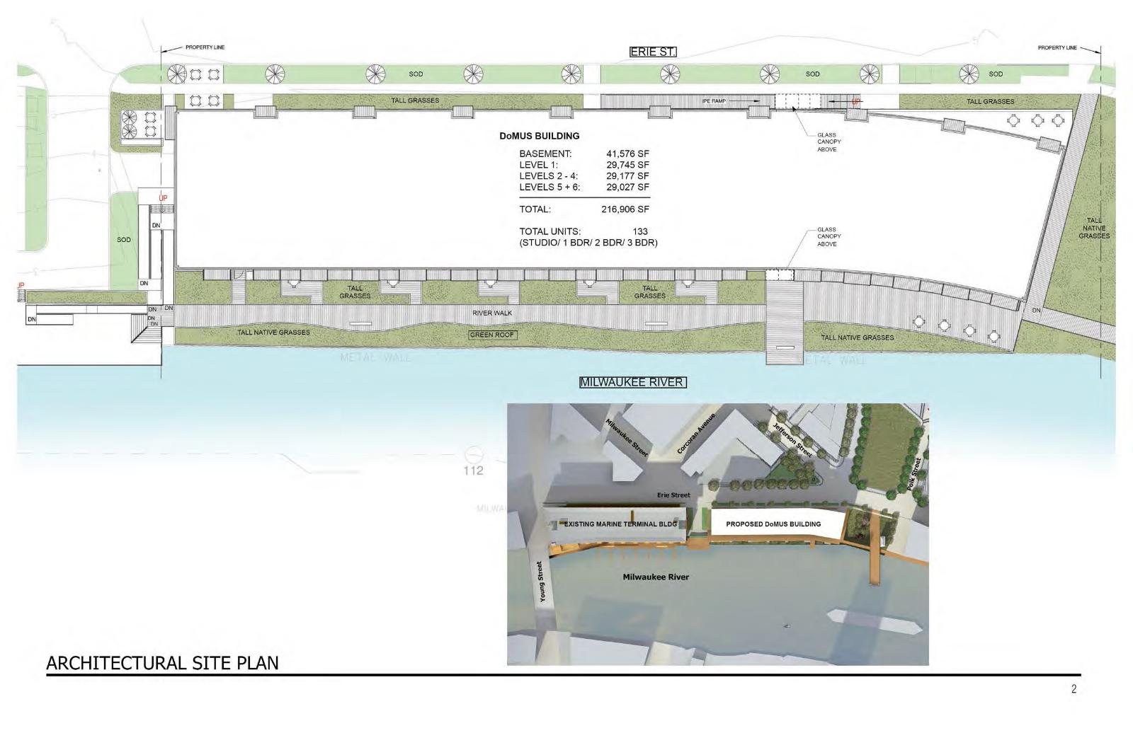 Domus Architectural Site Plan