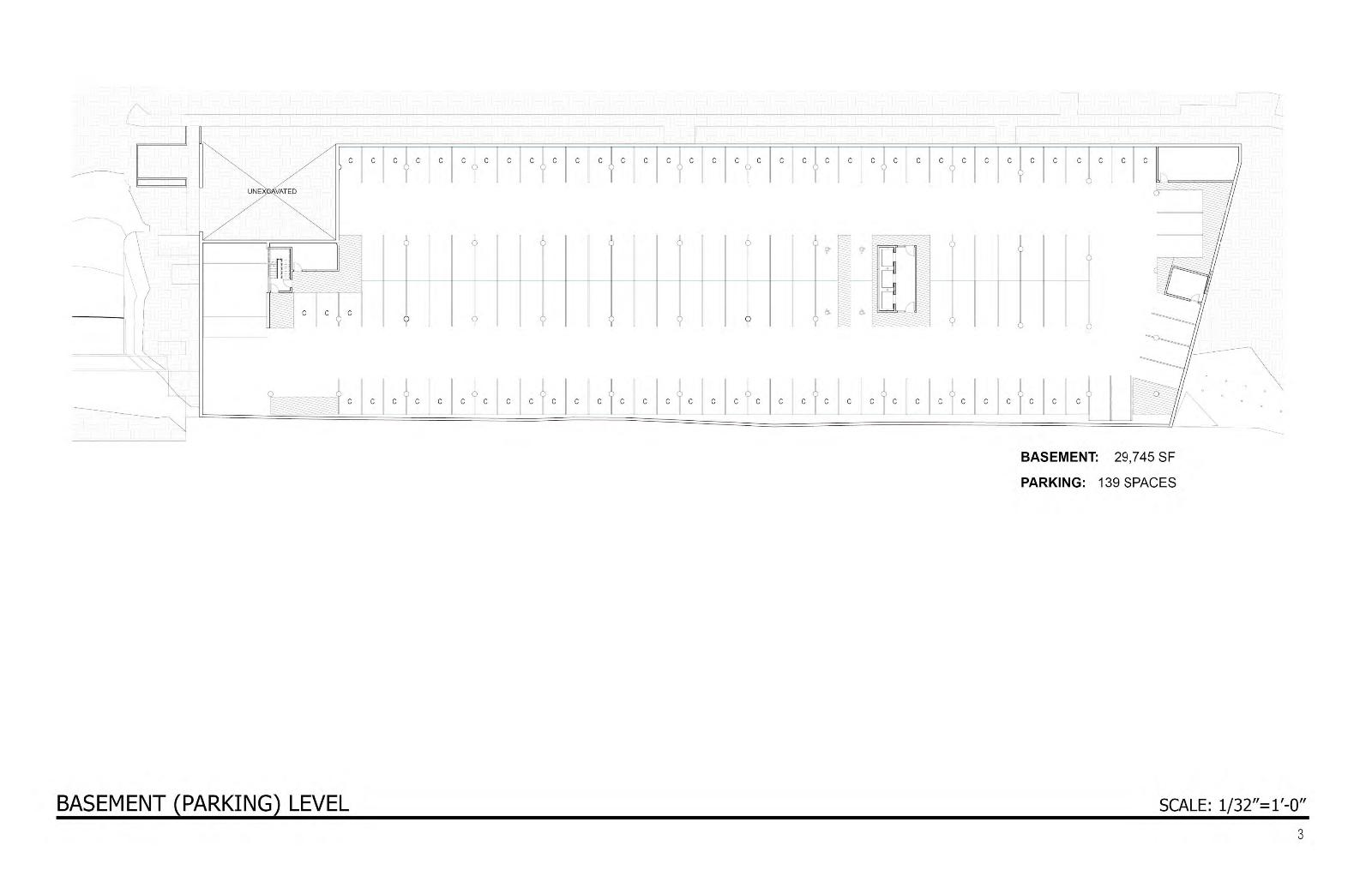 Domus Basment / Parking Plan