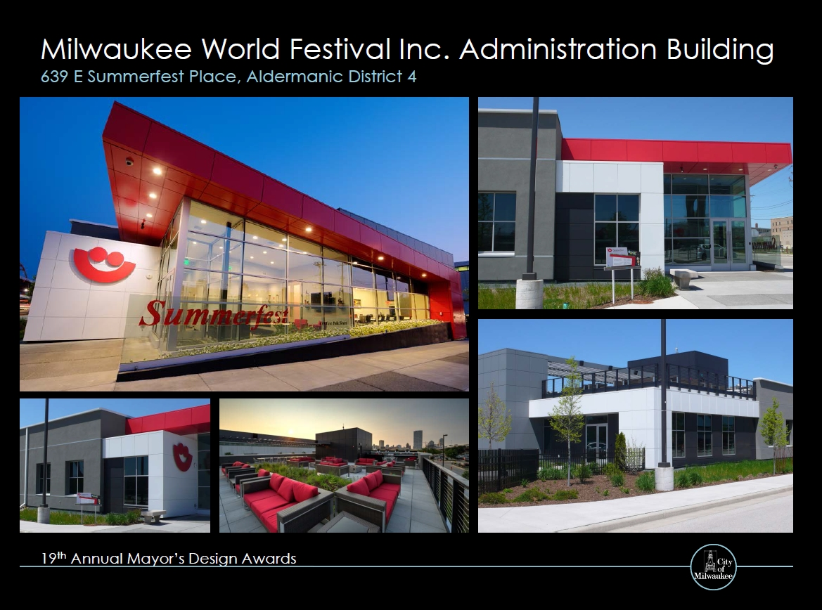 Milwaukee World Festival Inc. Administration Building