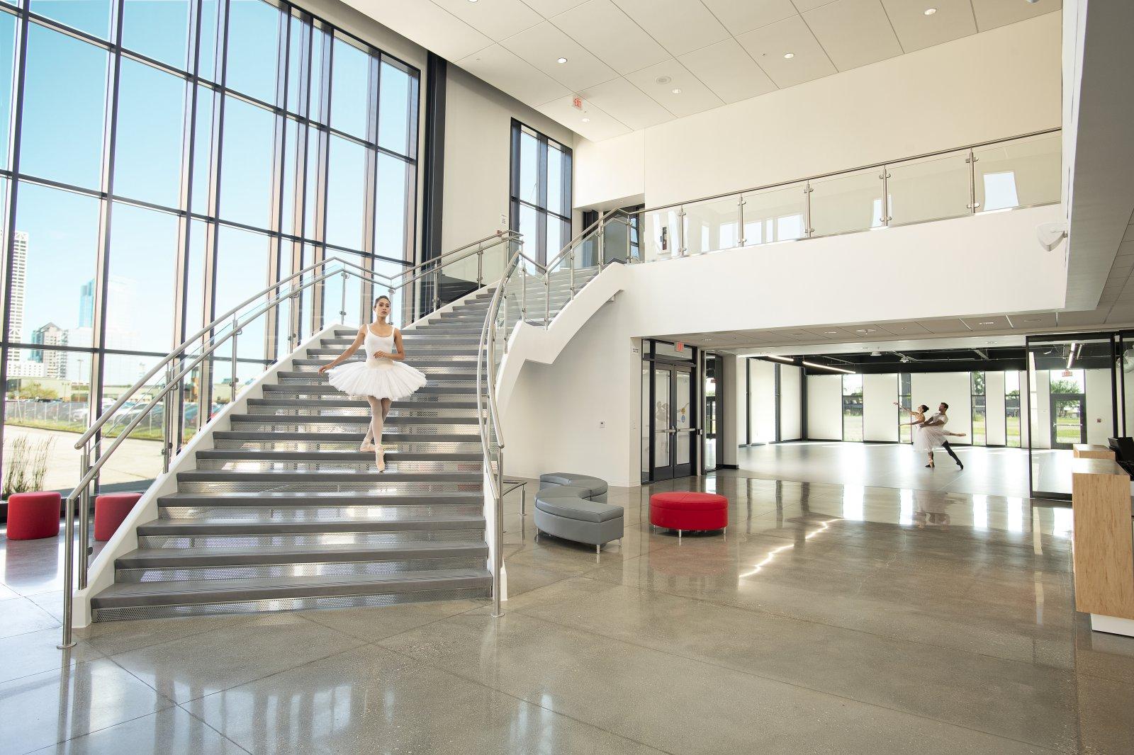 Herzfeld Atrium at Baumgartner Center for Dance