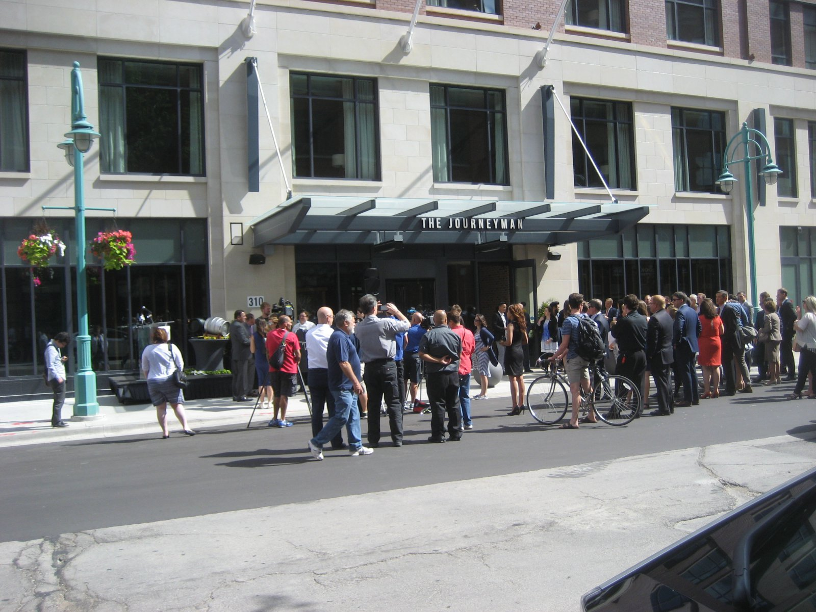 The Kimpton Hotel grand opening