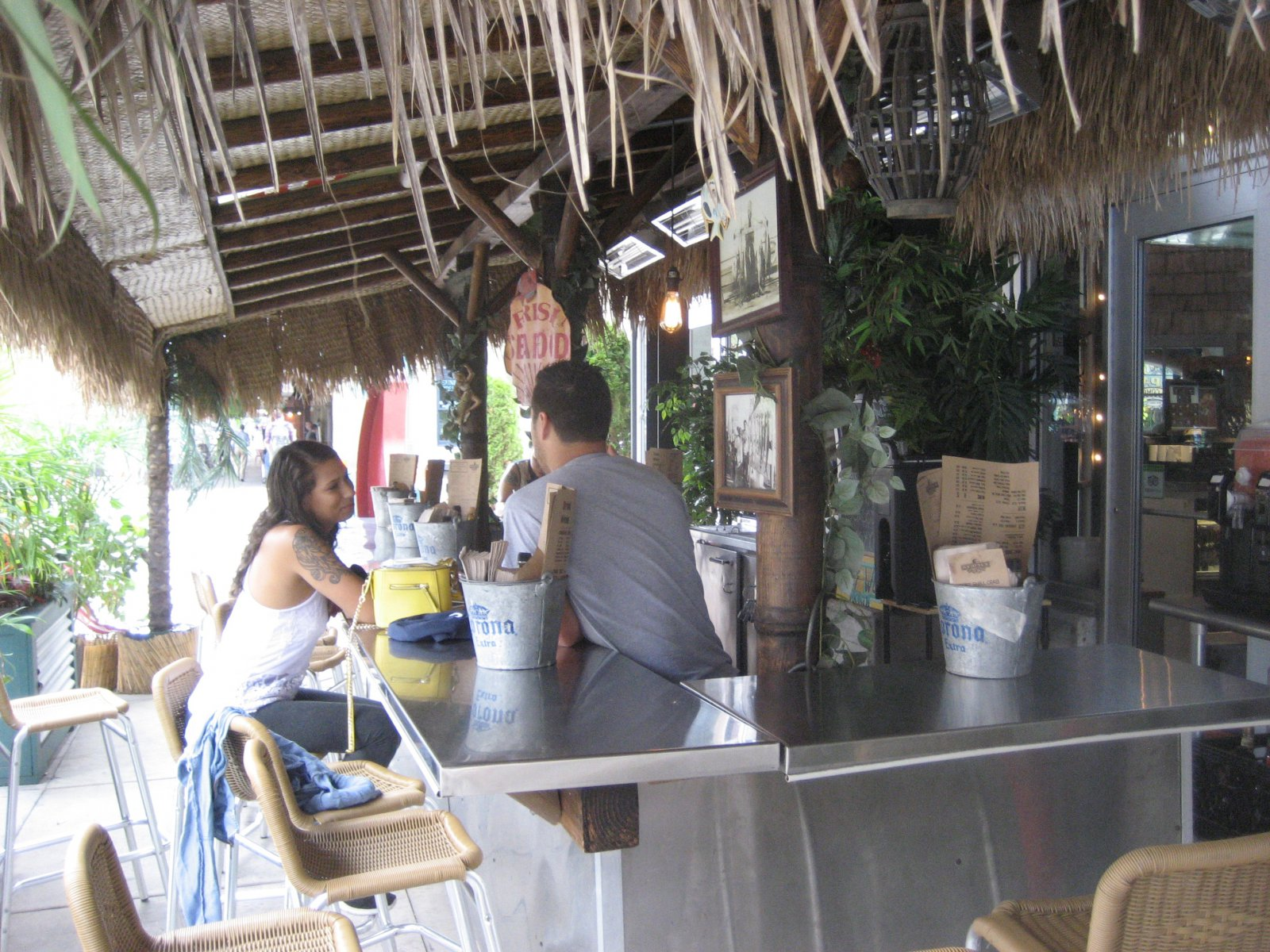 Fish Market\'s Outdoor Bar
