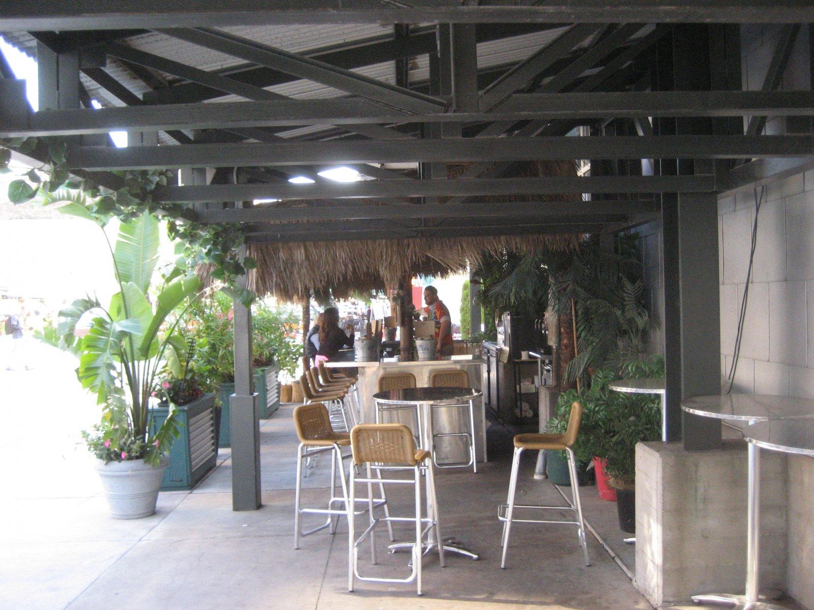 Fish Market\'s Outdoor Bar