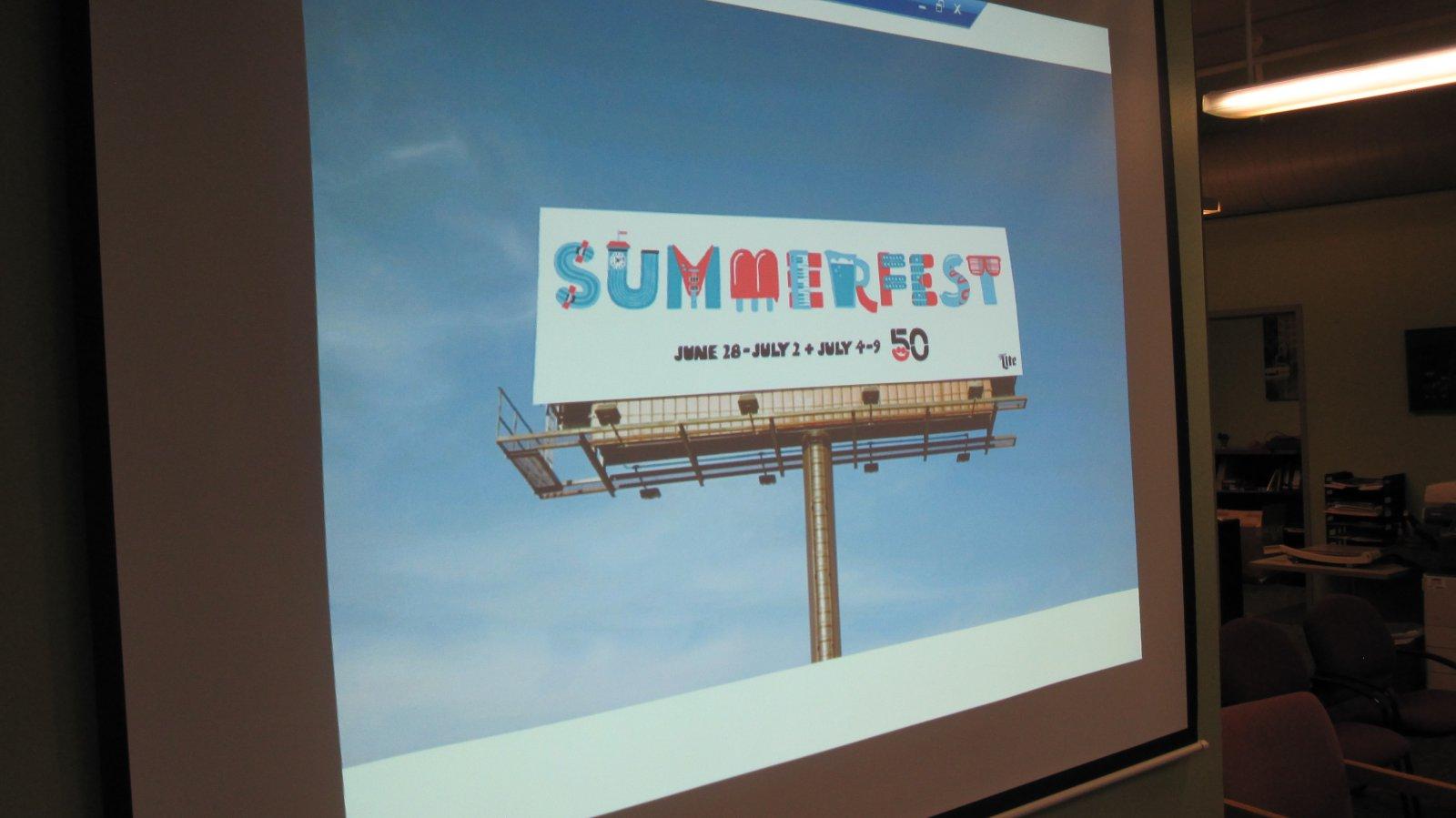 Summerfest 50th Banner