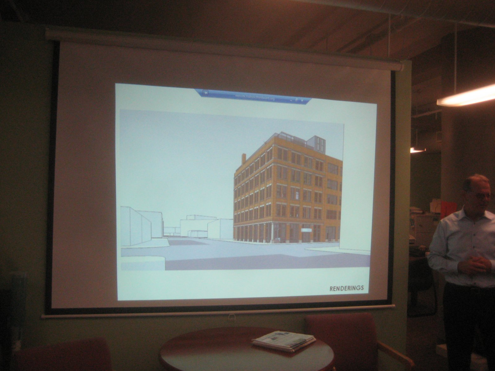 Rendering of 333 E. Chicago St. addition.