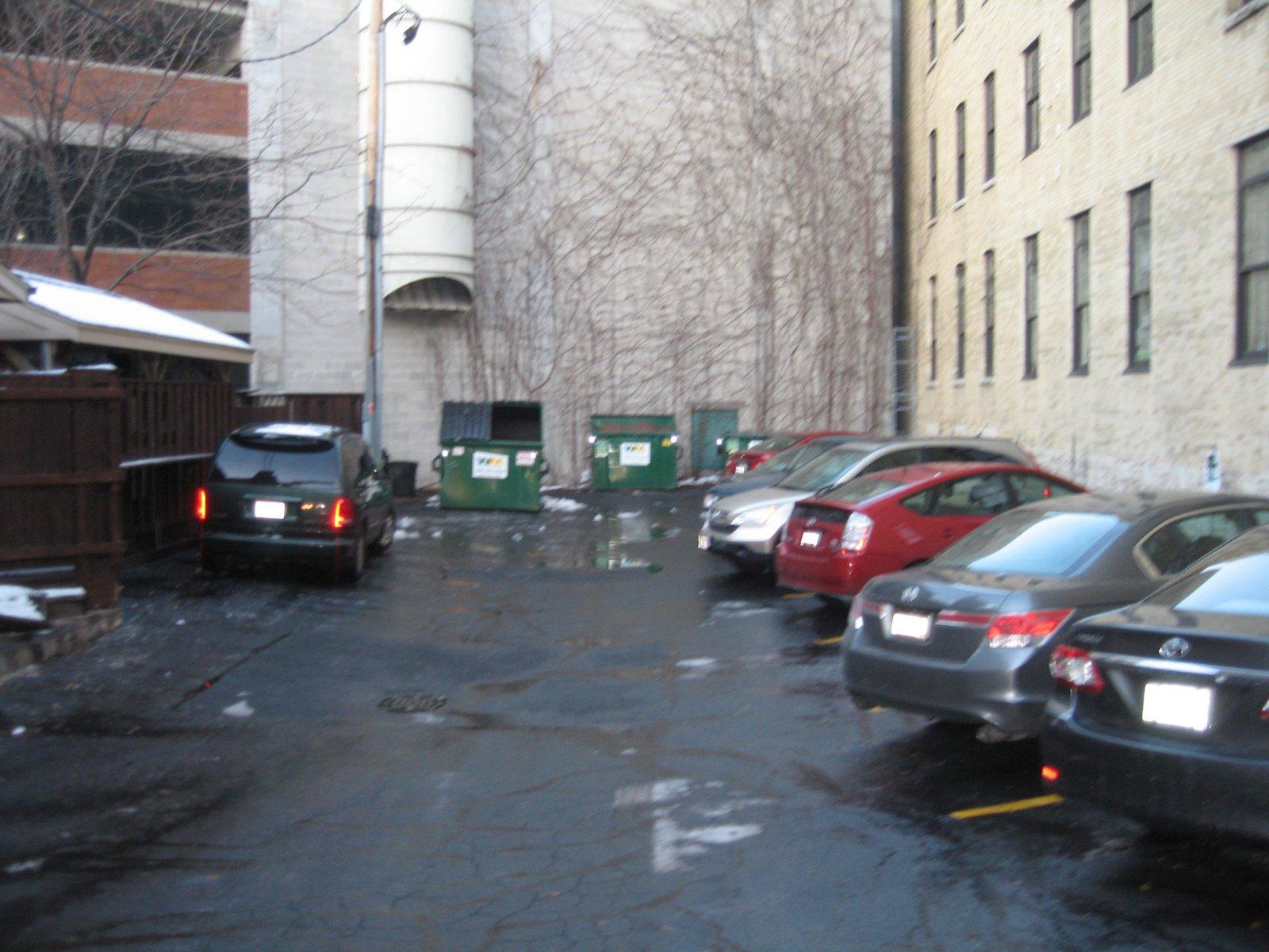 The Irish Pub parking lot