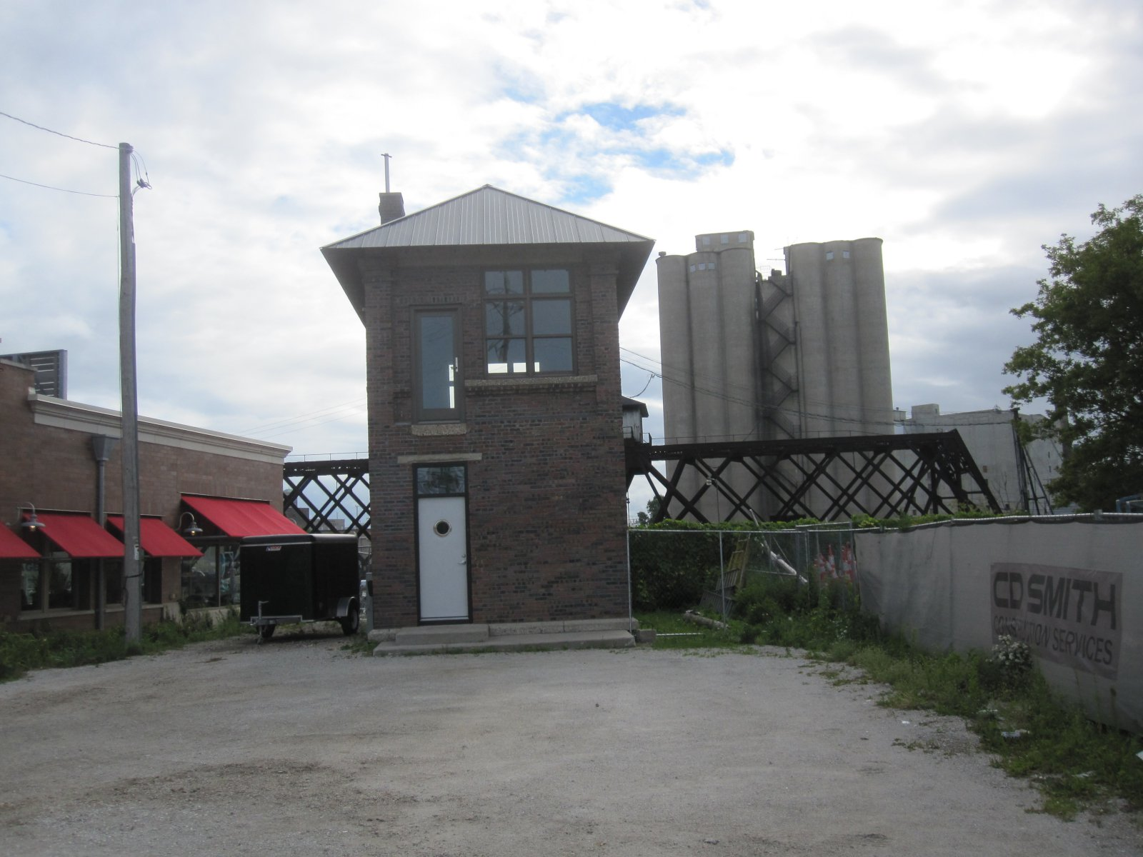 Tiny Railroad Tower House Is Unique