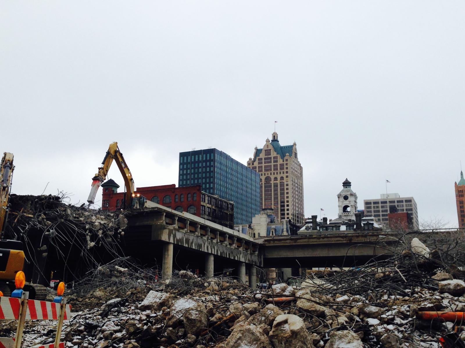 794 being demolished.