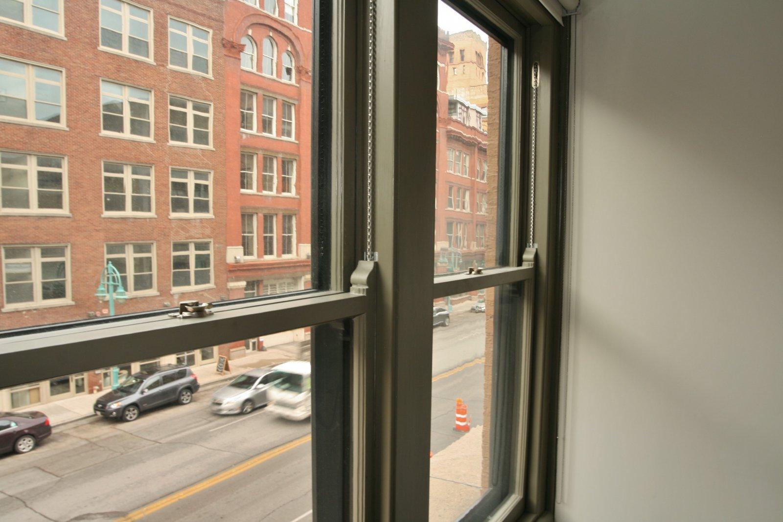 Restored Wood Windows