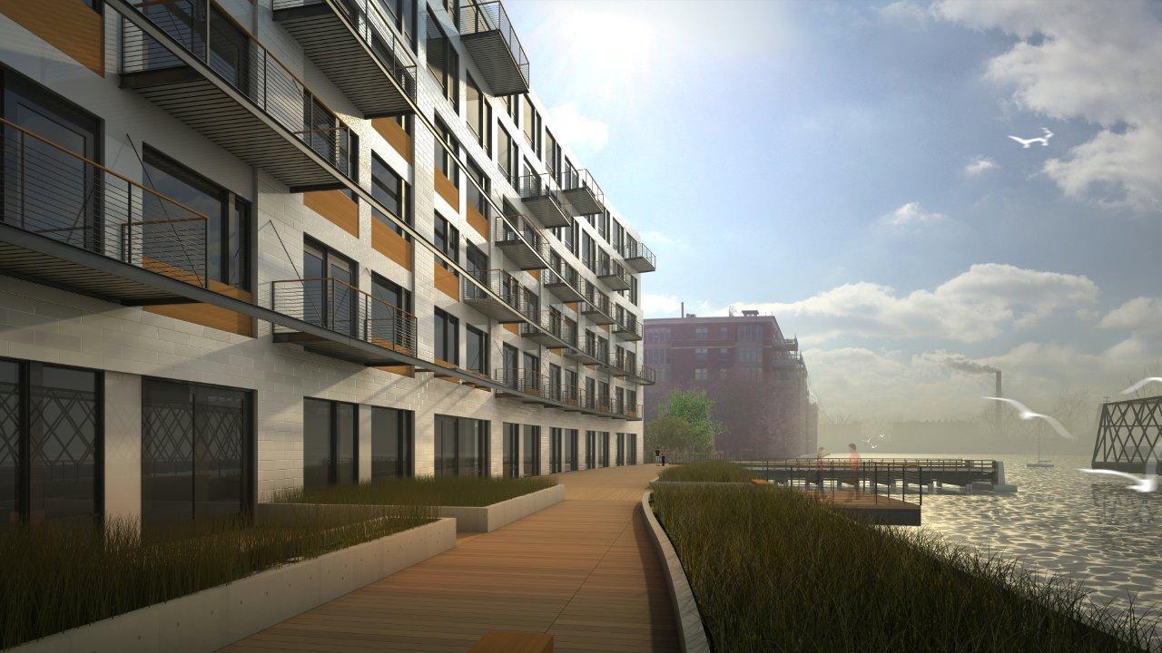 Eyes on milwaukee mandel starts third ward apartments for Domus address