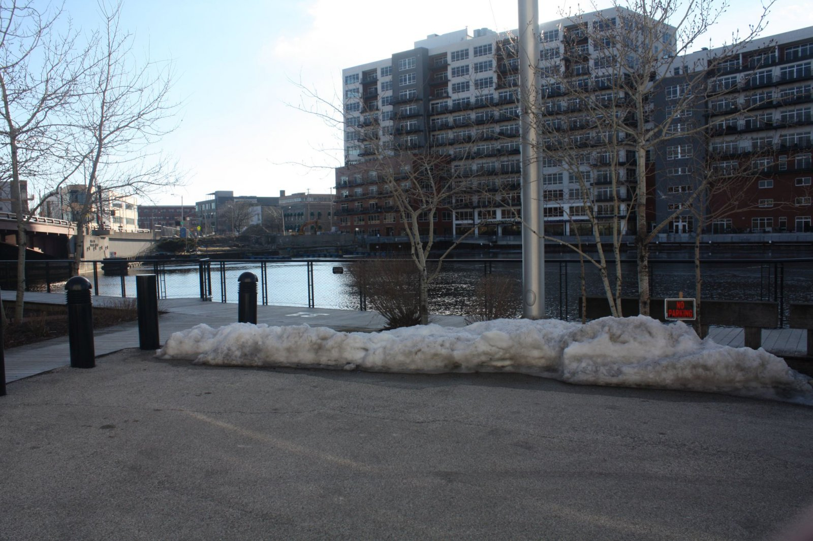 Site of the Dousman Dock where Lady Elgin passengers waited