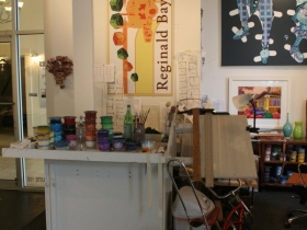 Reginald Baylor's Desk