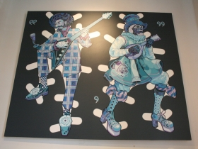 Sir and Mister Paper Dolls in Blu